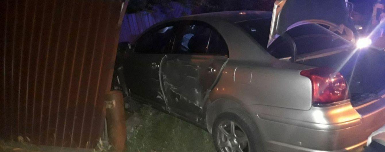 ДТП с пострадавшими в Борисполе: Toyota протаранила Honda