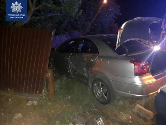 ДТП з потерпілими у Борисполі: Toyota протаранила Honda