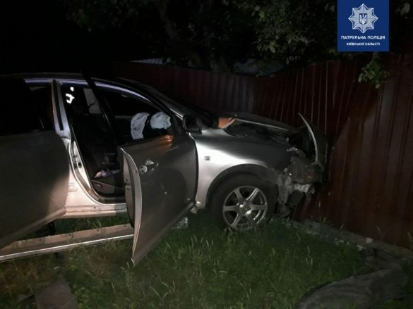 Аварія у Борисполі