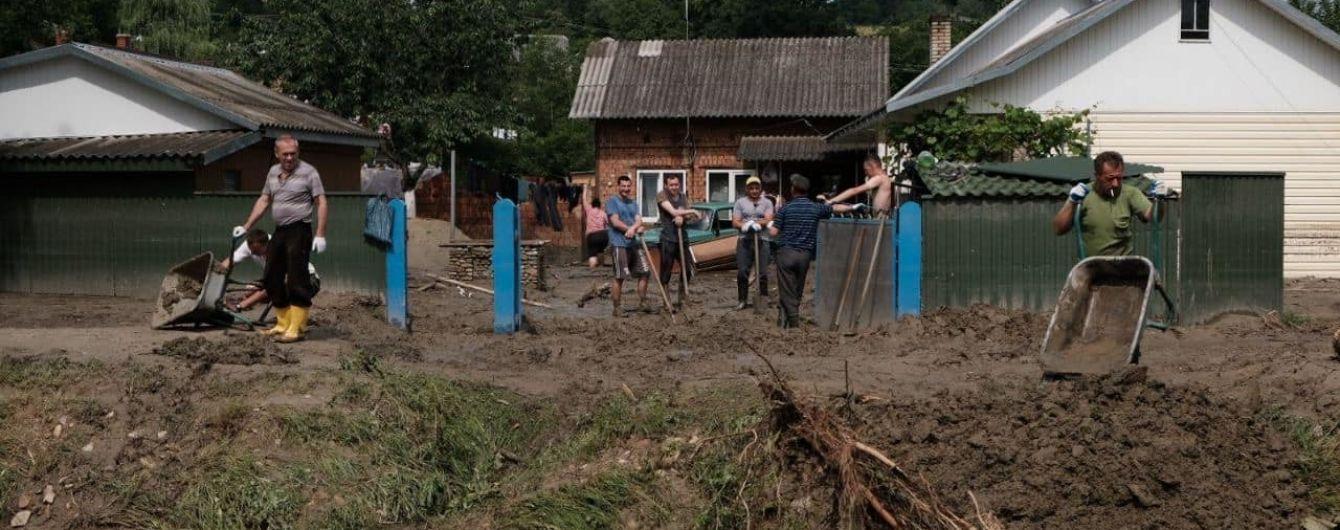 В Черновицкой ОГА рассказали, на какую сумму наводнение нанесло ущерб для области