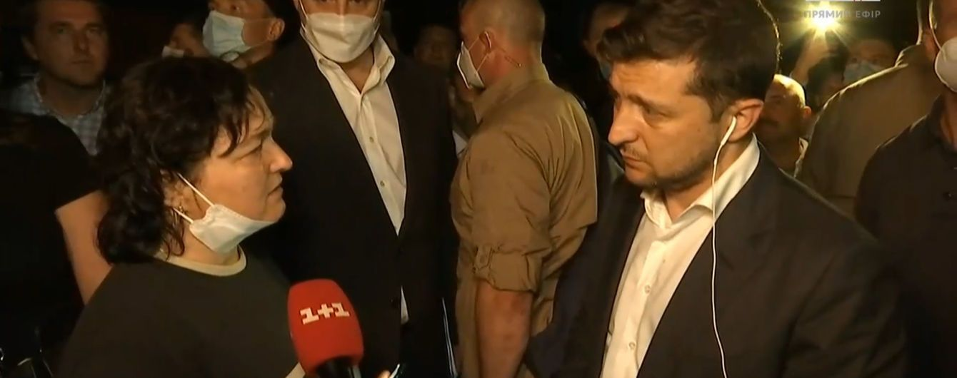 """""""К сожалению, я не могу прийти в каждый дом"""": Зеленский пообещал помочь с жильем пострадавшим от наводнения"""