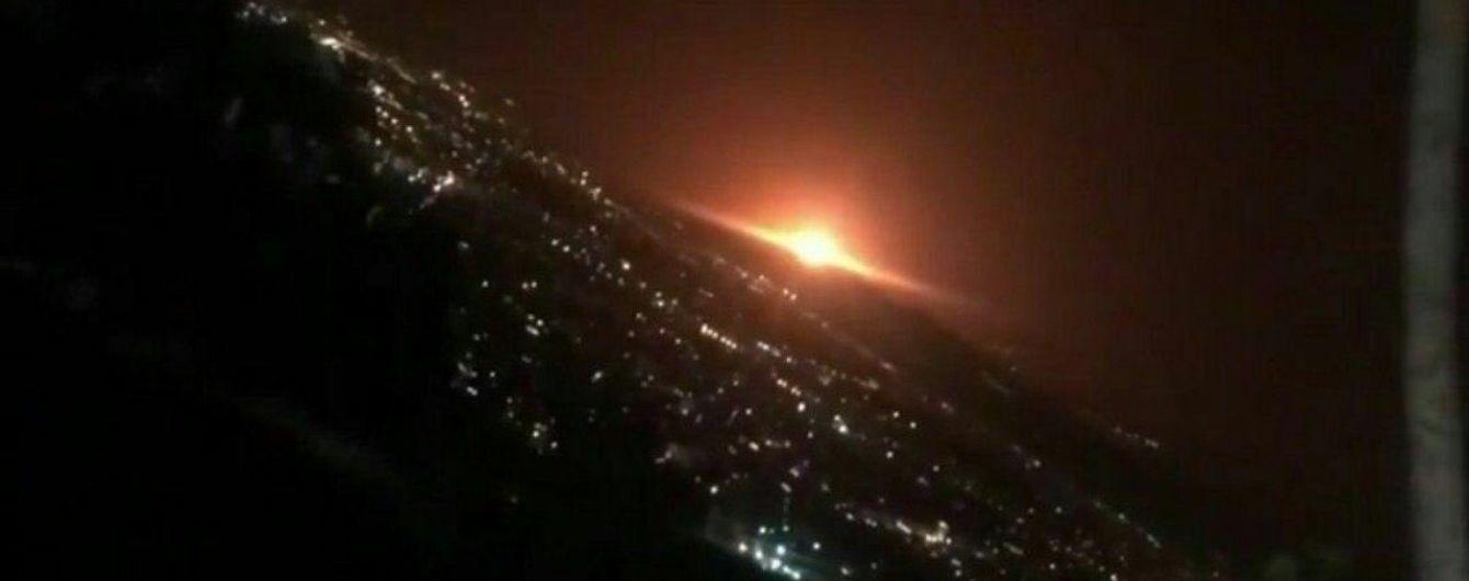 Мощный взрыв прогремел под Тегераном
