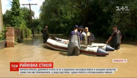 Україна просить НАТО та ЄС допомогти в подоланні наслідків повені