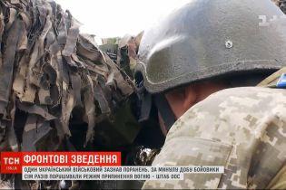 Український військовий зазнав поранень на східному фронті