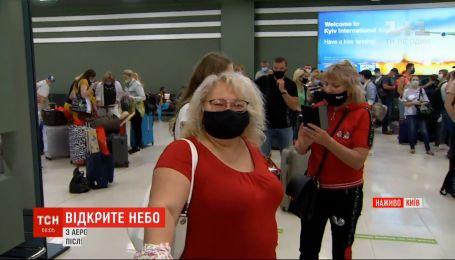 З України до Албанії вилітає перший після карантину чартер з туристами