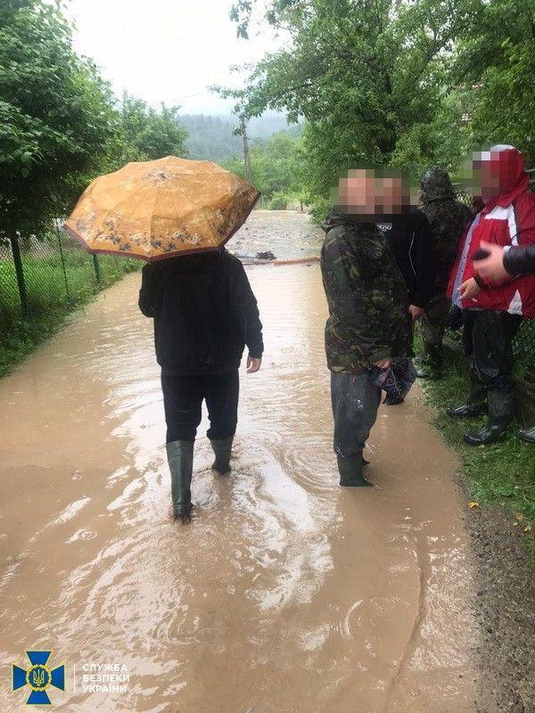 Паводок, СБУ, Західна Україна_3