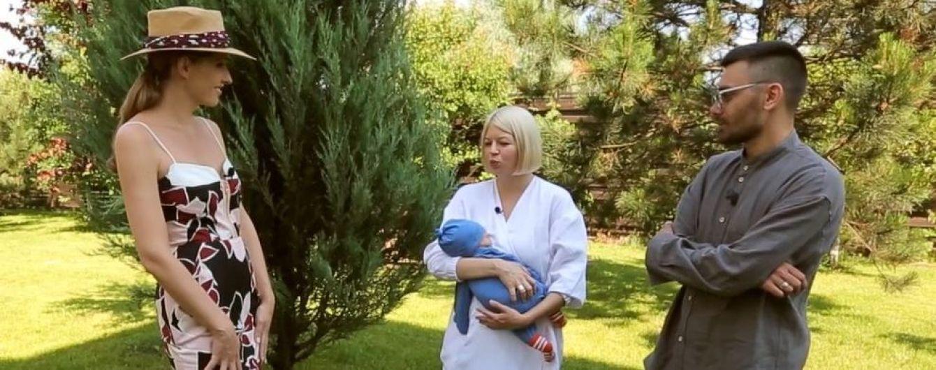 ONUKA розповіла, з якими труднощами стикнулася у перший місяць життя сина