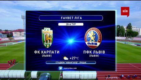 Карпати - Львів - 1:1. Огляд матчу