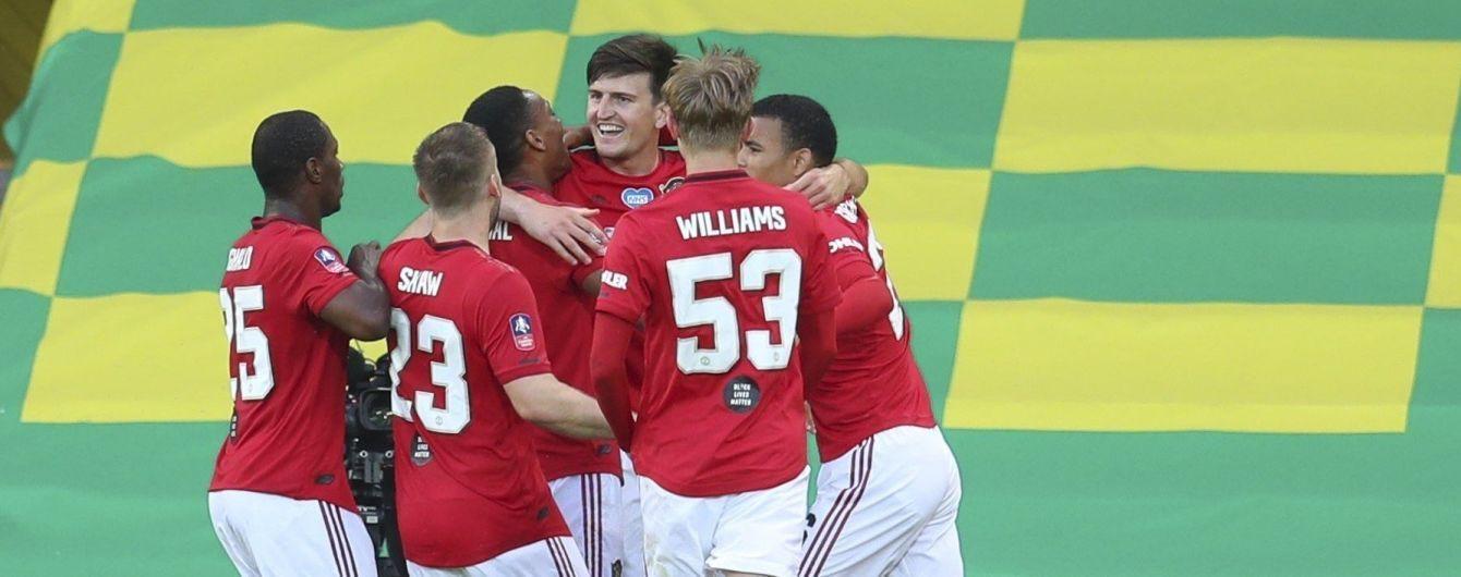 """""""Манчестер Юнайтед"""" в овертаймі став першим півфіналістом Кубка Англії"""
