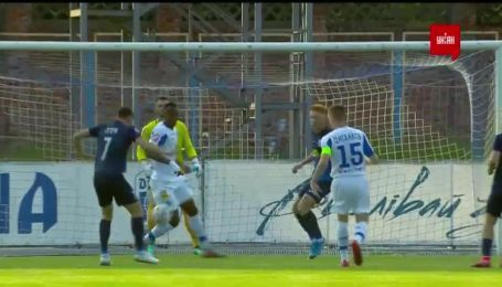Десна - Динамо - 0:1. Видео гола Цыганкова