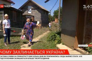 Понищене майно: на Прикарпатті та Буковині люди борються з наслідками повені