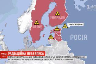 Кілька країн Європи зафіксували підвищений рівень радіації