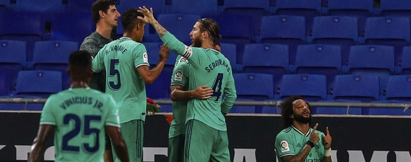 """""""Реал"""" завдяки філігранному голу впорався з """"Еспаньйолом"""" та одноосібно очолив Примеру"""