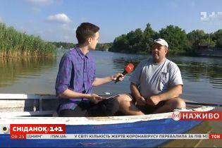 Правила безопасности во время рыбалки летом