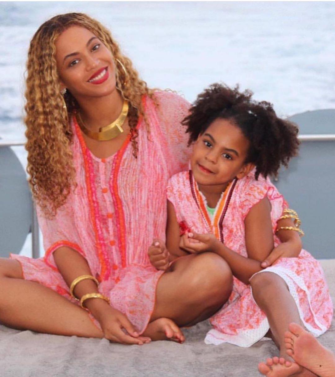 Бейонсе з дочкою