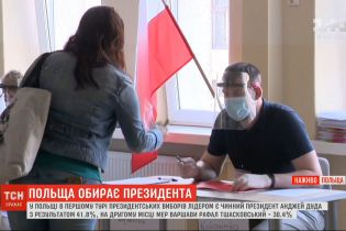 Дуда поки що лідирує: результати першого туру президентських виборів у Польщі