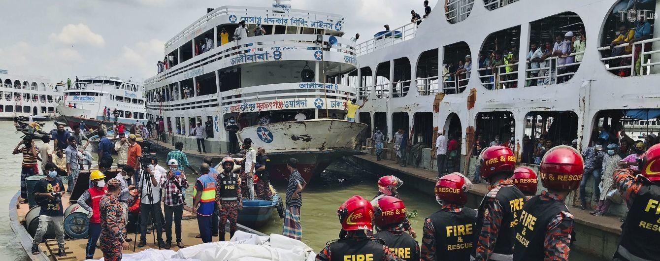 У Бангладеш зіткнулись два пороми: загинули кілька десятків людей