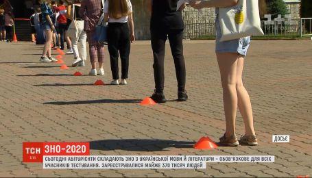 Наймасовіше ЗНО: абітурієнти складають тестування з української мови й літератури