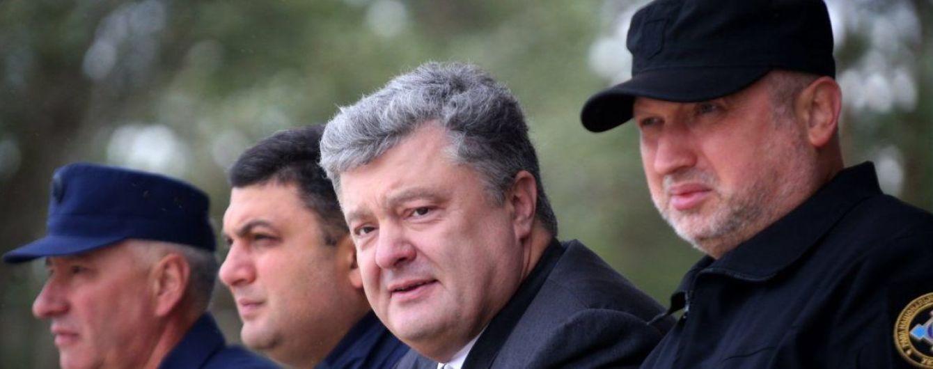 "Нам не нужна третья революция: Турчинов возглавил штаб партии ""ЕС"""