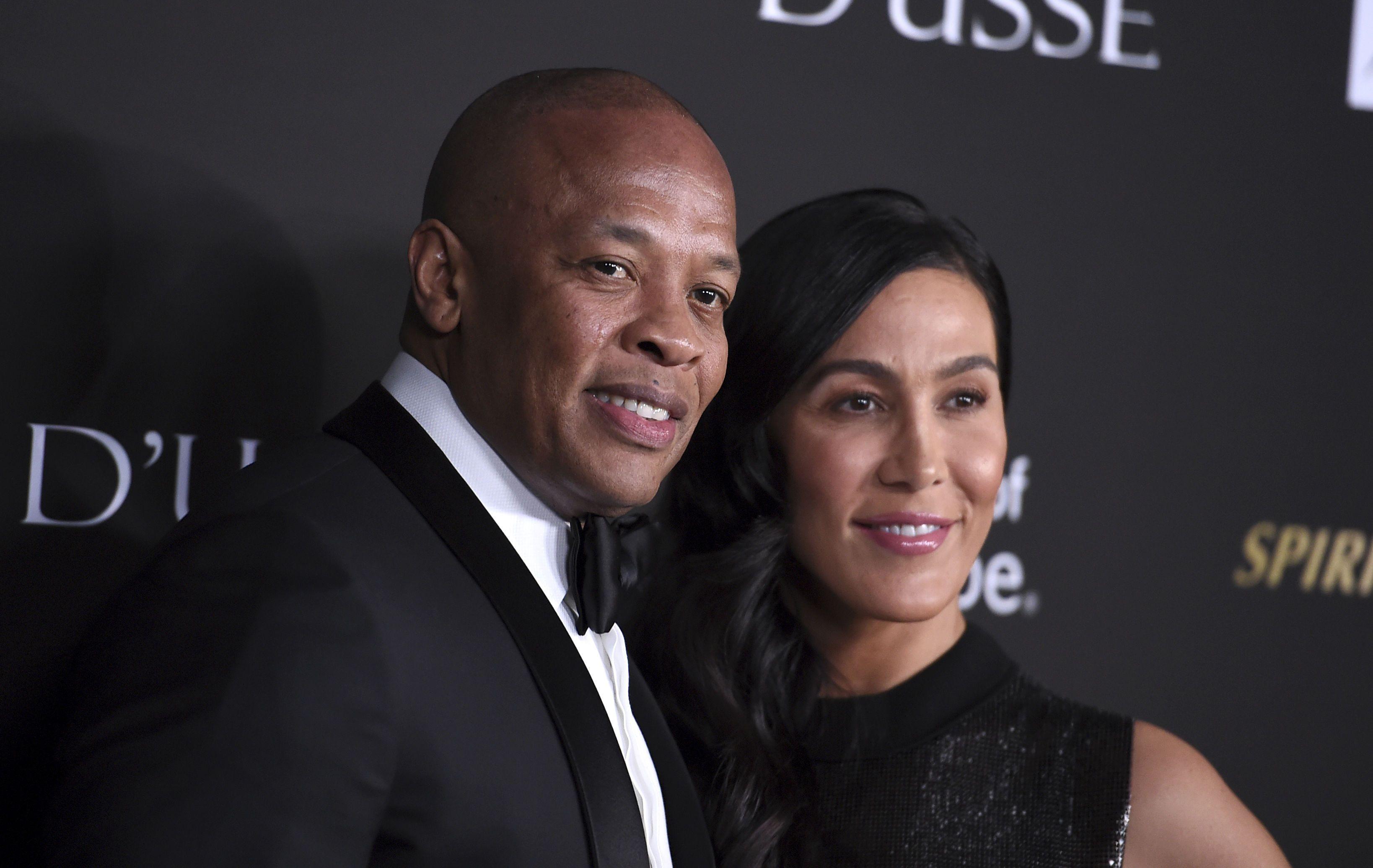 Dr. Dre з дружиною