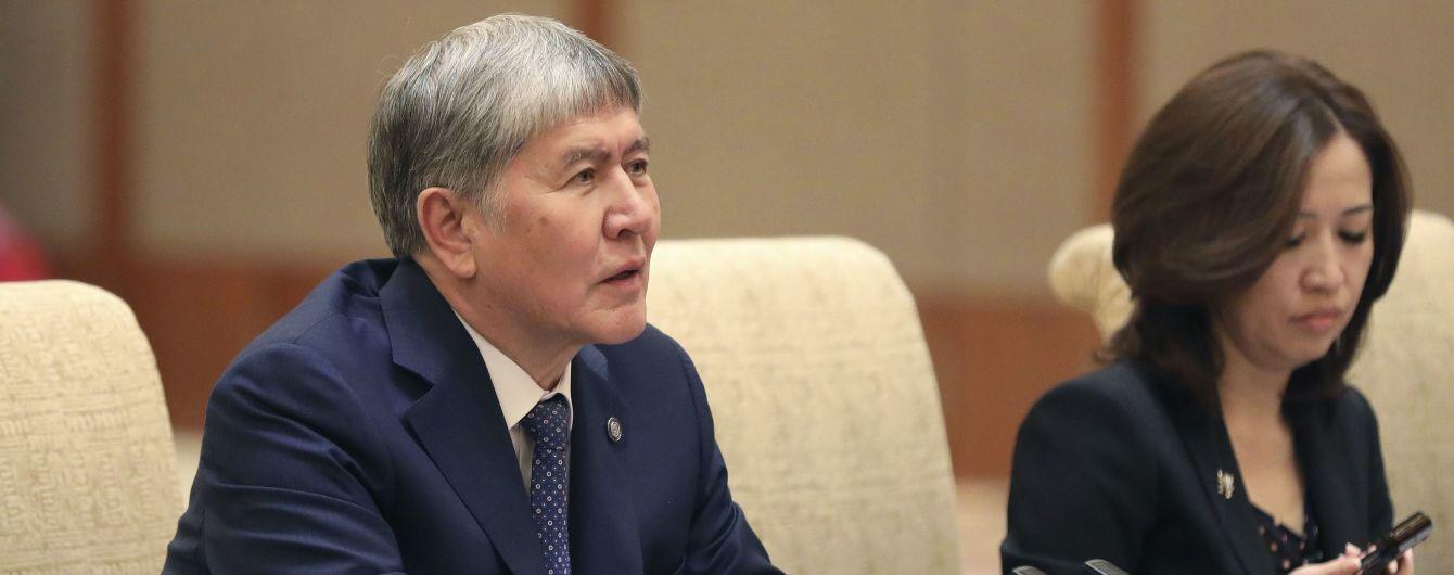 Экс-президент Кыргызстана в СИЗО заболел пневмонией