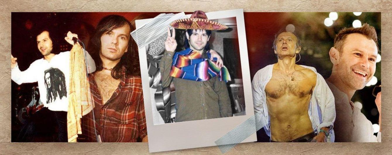 Святослав Вакарчук тоді і зараз: як змінився образ рок-зірки за 25 років