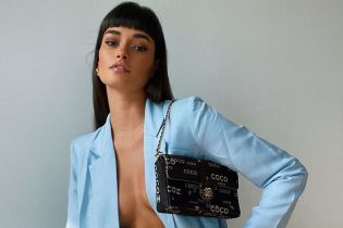 Жакет на голое тело: Жизель Оливейра продемонстрировала смелый образ