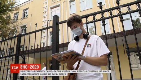 Самое массовое тестирование: как абитуриенты сдавали ВНО по украинскому языку и литературе