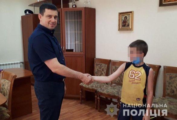 Пошуки хлопчика у Києві