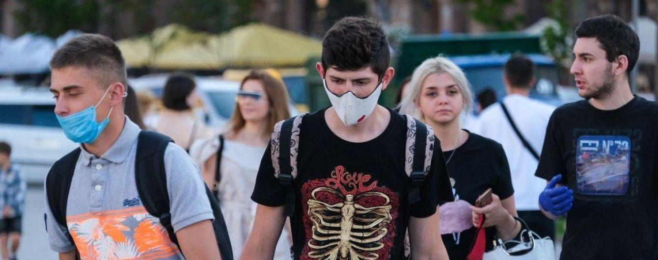 Кількість інфікованих коронавірусом у Києві за добу збільшилась майже удвічі – дані за 11 серпня