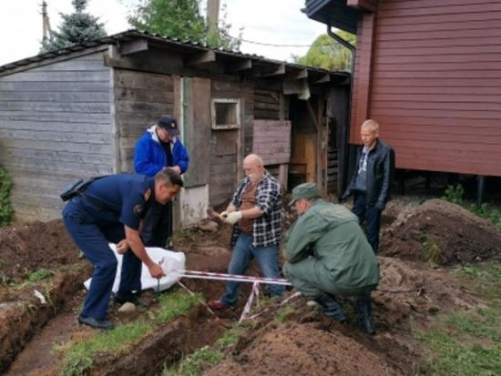 УРосії біля церкви знайшли скелет зі зв'язаними кінцівками