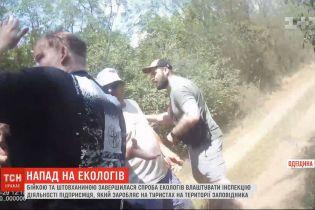"""Скандал в """"Тузловских лиманах"""": экологи парка требуют расследовать нападение на них"""