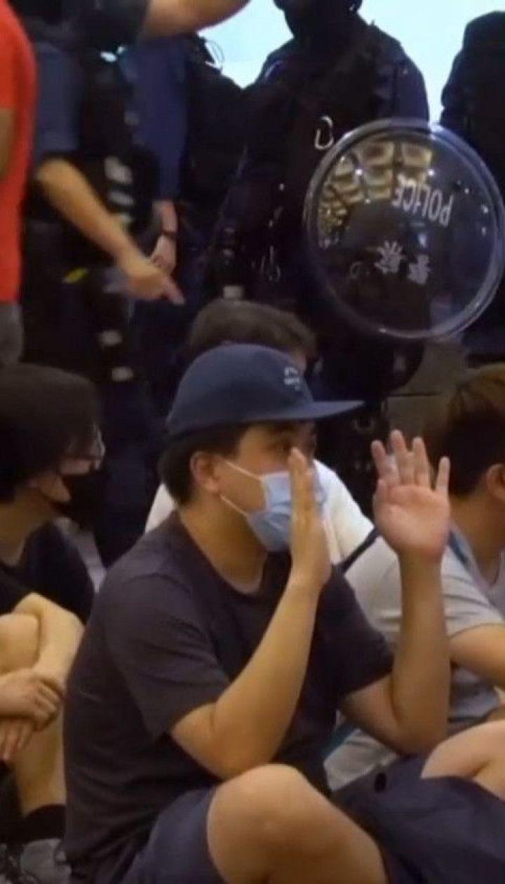 В Гонконге состоялись первые аресты по скандальному закону о национальной безопасности