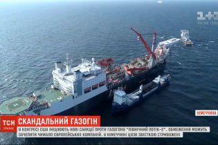 """США готові ввести нові санкції проти газогону """"Північний потік-2"""""""