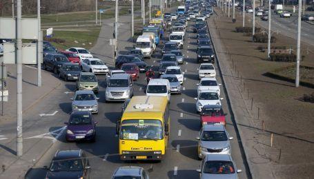 Затори в Києві: ситуація на дорогах станом на 2 липня