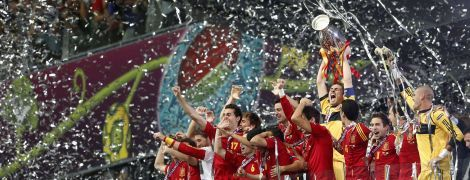 В Испании вспомнили триумф на Евро-2012 в Украине и оскандалились