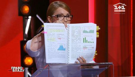 """Юлія Тимошенко про те, що у 2014 році """"не було підстав знижувати курс гривні в три рази"""""""