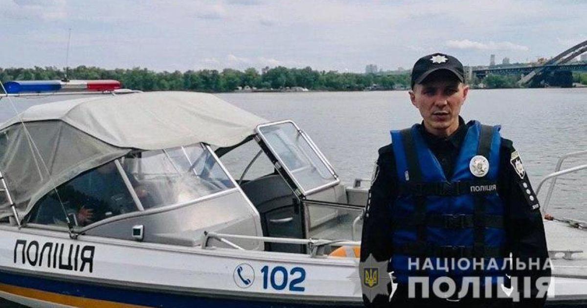 В Киеве речная полиция задержала шестерых пьяных водителей судов