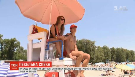 Погода в Україні: у західних регіонах очікують дощів, а у Херсонській області - спеки