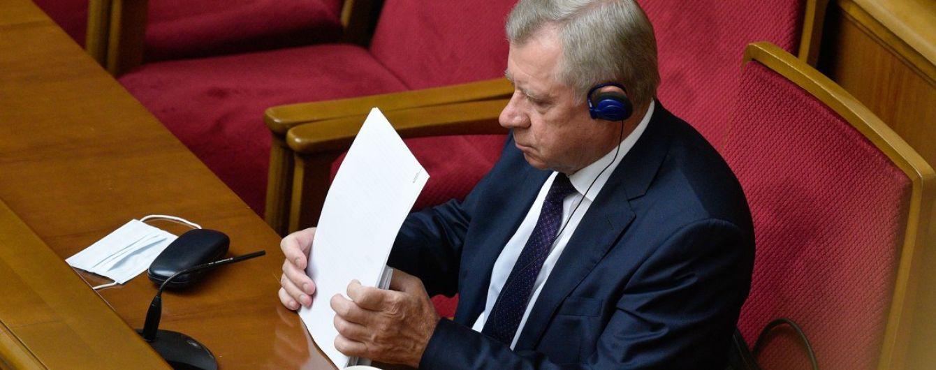 Смолий перед подачей заявления об отставке встречался с Зеленским