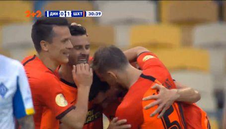 Динамо - Шахтер - 0:1. Видео гола Степаненко