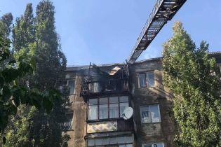 Пожарные полностью потушили пожар в многоэтажке в Новой Каховке