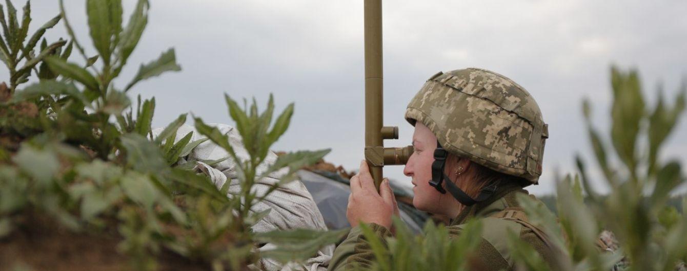 На Донбасі бойовики один раз порушили режим припинення вогню