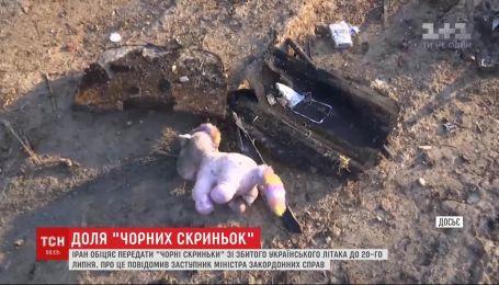 """Іран обіцяє передати """"чорні скриньки"""" зі збитого українського літака на експертизу до Франції"""