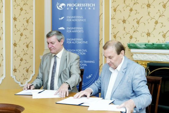 """""""Прогрестех-Україна"""" допоможе ХАІ збільшити кількість майбутніх інженерів"""