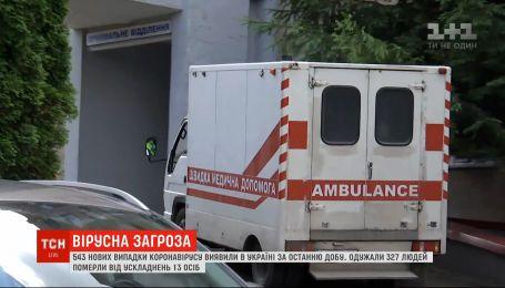 Менше на третину: в Україні різко поменшало нових випадків коронавірусу