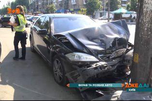 Пьяная авария: в столице мужчина похитил и разбил авто