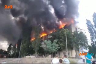 В Новой Каховке из-за мужчины загорелся целый дом