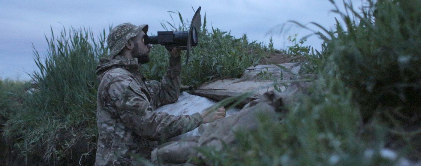 Боевики четыре раза нарушили режим прекращения огня — ООС
