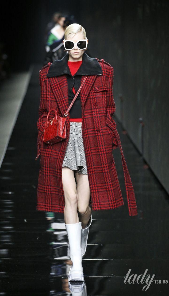 Коллекция Versace прет-а-порте сезона осень-зима 2020-2021